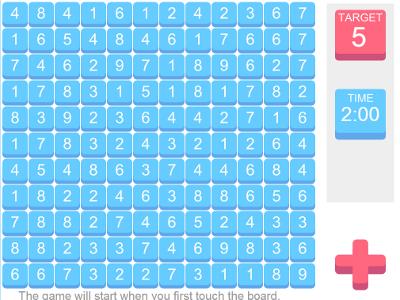 iPad Android IWB Teaching Resource Math Game
