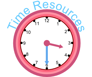Time Clocks Teaching and Learning iPad Android IWB resources