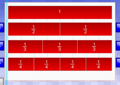 Number Names Worksheets fraction charts equivalent fractions : fracchartM.png