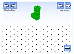 Isometric maths teaching resource