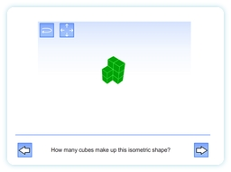 Isometric Interactive Whiteboard Resource