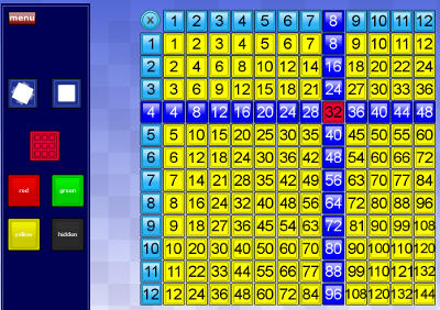 Flash multiplication square teacherled - Multiplication table interactive ...