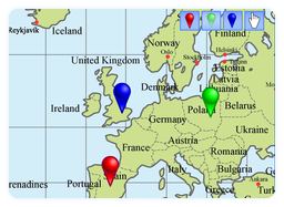 Flash world map teacherled an interactive whiteboard gumiabroncs Images