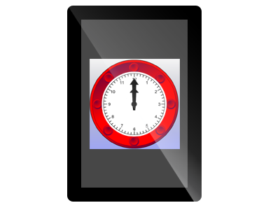iPad Clock Teaching Resource