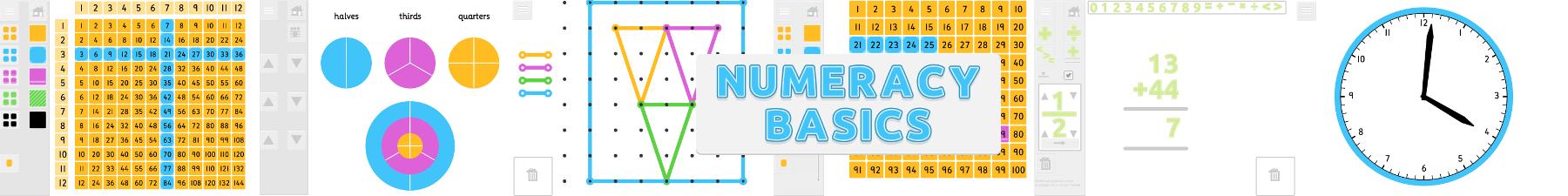 Numeracy Basics App