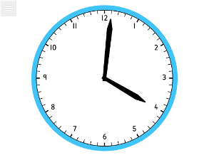 Teaching clock app iwb