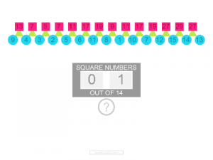 iPad IWB Android Square Number Puzzle resource