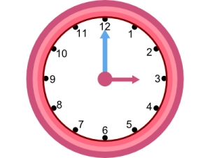 Analogue Clock for IWB iPad Android Tablet teaching resource