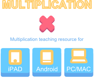 IWB iPad Android Multiplication Teaching Resources