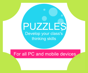 IWB iPad Android Classroom puzzles resource
