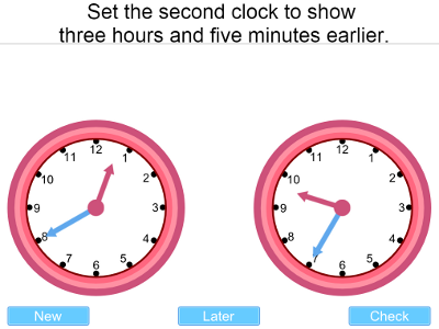 IWB iPad Android Time Teaching Resource