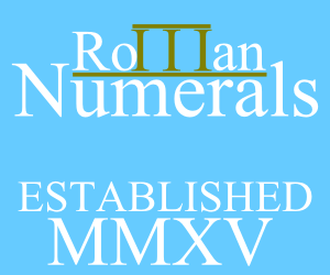 Roman Numerals iPad IWB teaching resourceapp