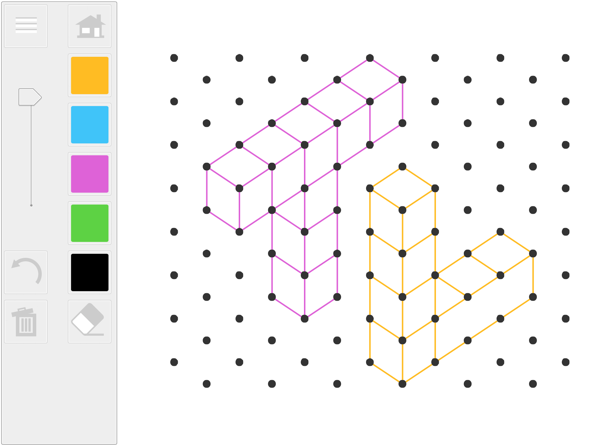 Isometric Drawing IWB web-app